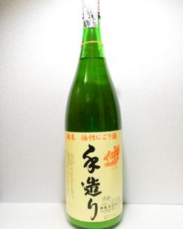神亀 純米活性にごり1.8L