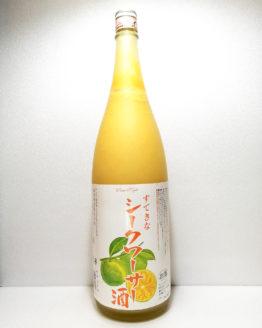 すてきなシークワーサー酒1.8L